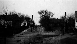 Somogyjád - Petőfi Sándor utca az 1950-es években.
