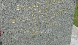 Balog István (1873. - 1916.)