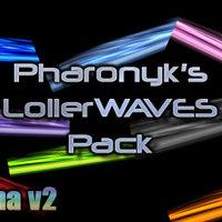 Plasma háttér és boot! Wave Pack