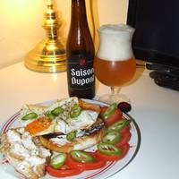Könnyű, nyári vacsora sörrel - Saison Dupont