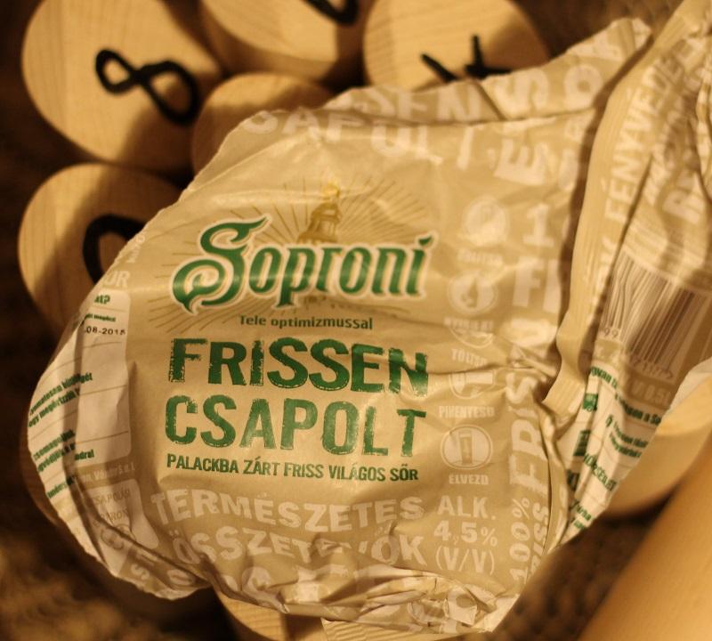 A hónap kérdése: különbözik-e a Soproni Frissen Csapolt a simától?