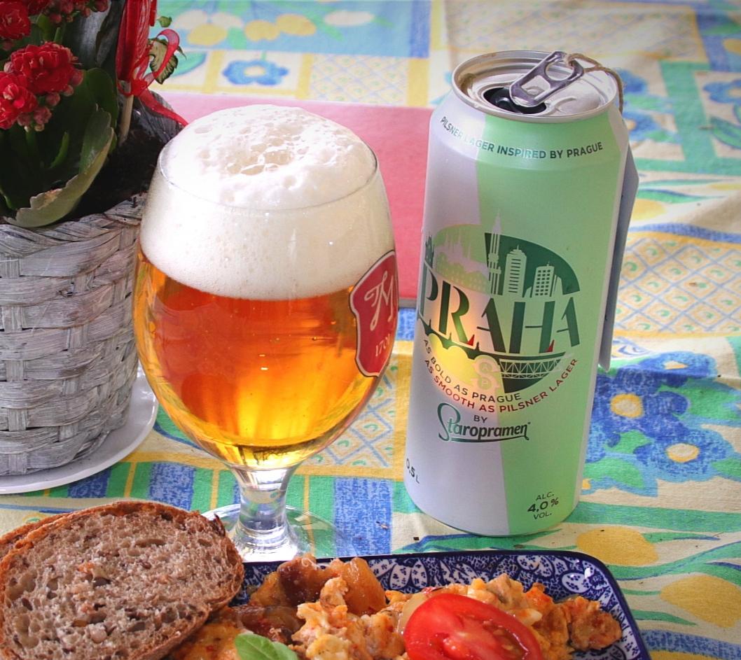 Staropramen Praha - régi sör új ruhában