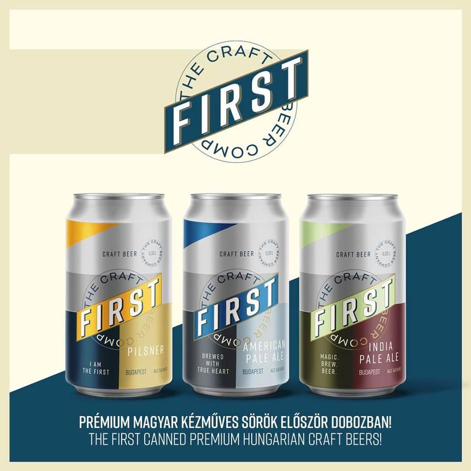 Üveges vagy dobozos? Új magyar dobozos sör by FIRST Craft Beer