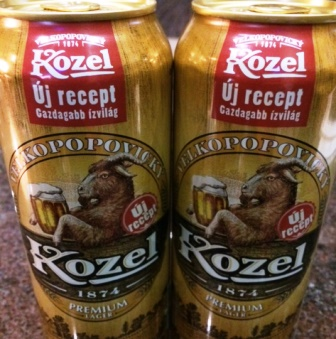 Kozel Premium Lager - régi gúnya, új belső