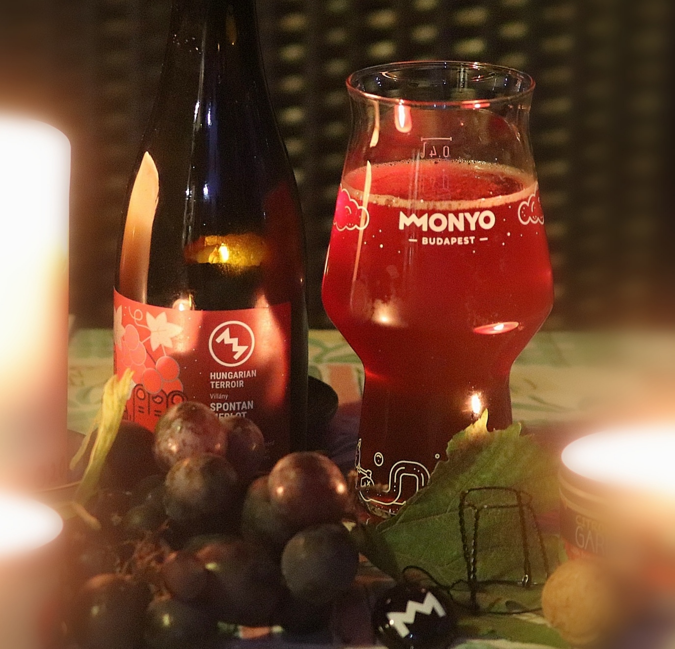 Monyo Hungarian Terroir - Spontan Merlot 2018