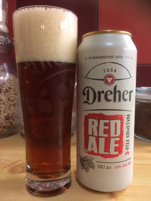 Dreher Red Ale - új irány Kőbányán