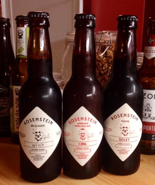 Saját Craft Beer a Rosenstein Vendéglőből