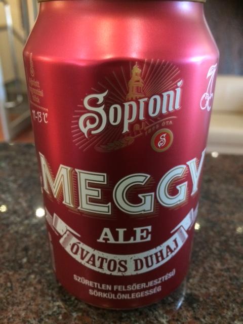 Új Óvatos Duhaj - Soproni Meggy Ale