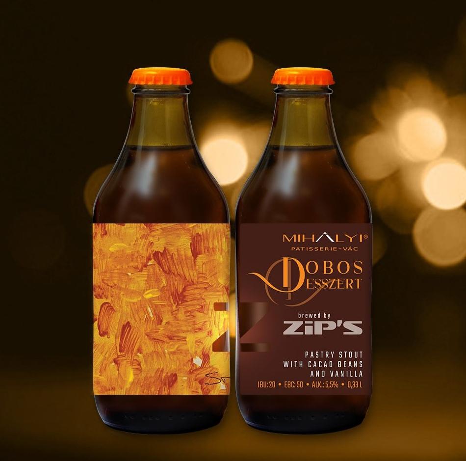 Zip's Dobos Desszert - Sörkultúra + bónusz Angel's Ser