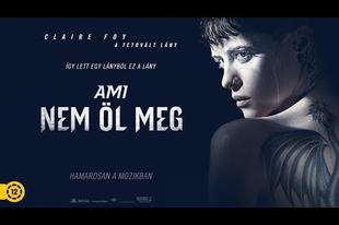 AMI NEM ÖL MEG (The Girl in the Spider's Web) - Magyar szinkronos trailer!