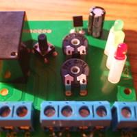 A sörkollektor vezérlő elektronika elkészítése
