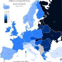 Európa és az alkohol - Hol vedelnek a legtöbbet a kontinensen?
