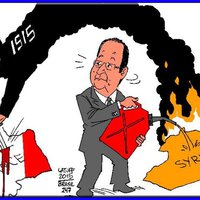 A nizzai mészáros portréja - Francois Hollande
