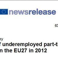 Európai alulfoglalkoztatottak