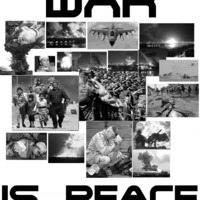 Orwell forog a sírjában - War is Peace