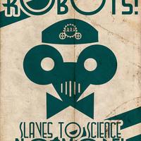 Robotok söprik a padlást