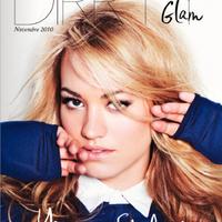 Yvonne Strahovski a Dirrty Glam magazinban