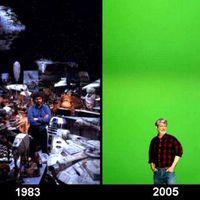 Star Wars előzmény trilógia díszletfotók, 1. rész