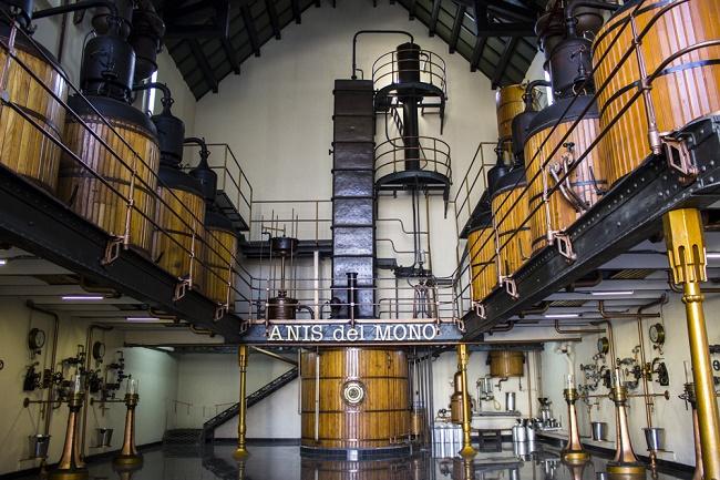 Anís del mono gyárban