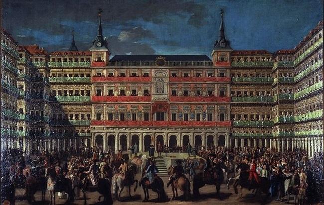 Díszfelvonulás III. Károly király tiszteletére (Lorenzo Quirós, 1760)