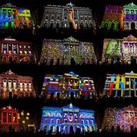 Barcelona fénybe borul