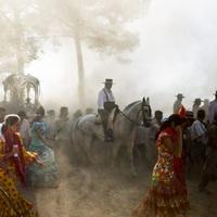 El Rocío, a világ legnagyobb lovas zarándoklata
