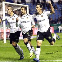 A Valencia legyőzte és megelőzte a Levantét