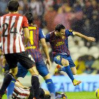 Messi az utolsó pillanatban pontot szerzett a Barcának