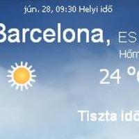 Spanyolország napi időjárás előrejelzés 2010 június 28
