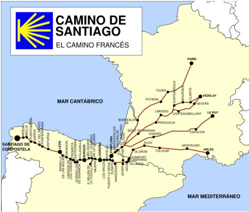 Spanyolországi Szent-Jakab út: El Camino