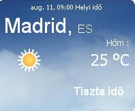 2010 előrejelzés időjárás információ napi spanyolország spanyolországi info eső felhő vihar augusztus