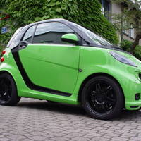 Smart Brabus ForTwo Coupe (Lime Green)
