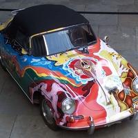 Porsche 356 C Cabriolet by Janis Joplin