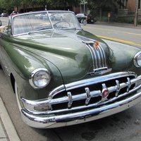 Pontiac Silver Streak 8 Convertible