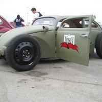 Volkswagen Bogár Military Rat Rod