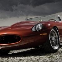 Jaguar E-Type Speedster Lightweight by Eagle