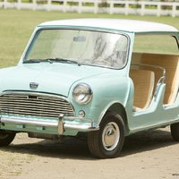 Austin Mini Beach Car