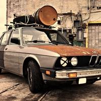 BMW 523i (E28) Rat Look
