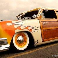 Surfers Woody Custom