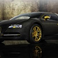 Bugatti Veyron 16.4 Linea Vincero d'Oro by Mansory