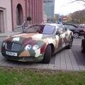Bentley Continental GT (camouflage)