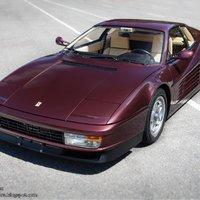 Ferrari Testarossa (bordó metál - Rosso Metallizzato)