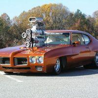 Pontiac GTO Pro Street Muscle Car