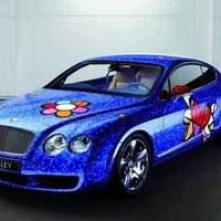 Bentley Continental GT Pop Art á la Romero Britto