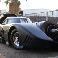The Batmobile - Michael Keaton Version