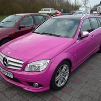 Mercedes-Benz C 350 CGI T (pink)