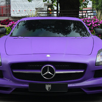 Mercedes-Benz SLS AMG (purple matt)