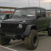 Mercedes G Full Size Pick-up by Wolf