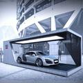 Kitekintő: a világ legkisebb márkakereskedése - Audi  Brand Terminal Five Dock, Sydney