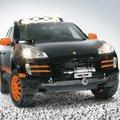 Porsche Cayenne Transsyberia (fekete / narancs)